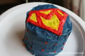 easy superhero smash cake for first birthday on my side of the room