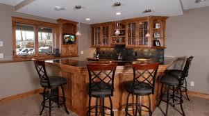 bar amazing cherry kitchen cabinet with corner glass door wall