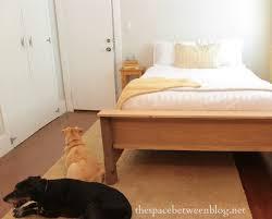 diy purebond wood frame bed