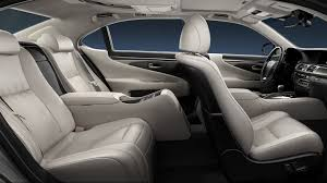 2014 lexus ls 460 redesign ls 600h l lsh shown in light gray leather trim with shimamoku