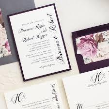 wedding invitations calligraphy simple calligraphy customizable modern wedding invitations