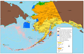 A Map Of Alaska by Alaska Region Fisheries U0026 Ecological Services