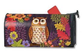 unique fall and autumn mailwraps magnetic mailbox covers