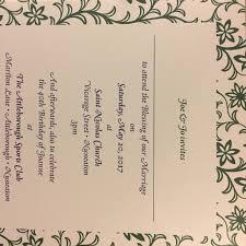 joe u0026 jo wedding blessing invitation fonts in use