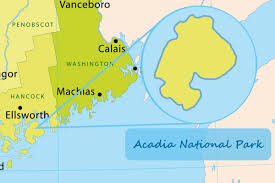Acadia National Park Map Unbelievably Awesome Facts About The Acadia National Park