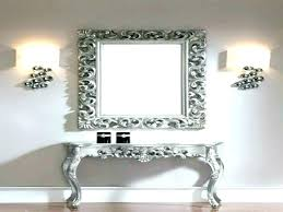 hallway table and mirror sets console table and mirror set console tables top hall table and