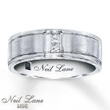 neil wedding bands neil men s band 1 8 ct tw diamonds 14k white gold 7 5mm