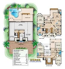casa bella iv house plan weber design group