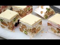 soft nougat torrone morbido italian cuisine youtube