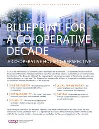 co operative housing blueprint for a co operative decade and