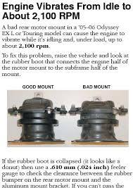 2004 honda odyssey engine mounts anyone changed a motor mount page 2 honda pilot honda pilot