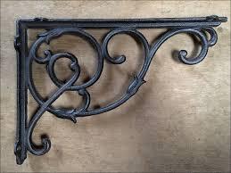 furniture marvelous wood triangle shelf brackets ornamental