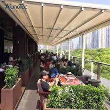 Pergola Awning Retractable by China Aluminum Retractable Sun Shades Pergola China Pergola