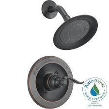 Included by Delta Windemere 1 Handle Shower Only Faucet Trim Kit In Oil Rubbed