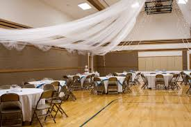 Tulle Decorations Decorating Folding Chairs For A Wedding Tbrb Info
