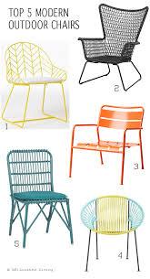 Modern Porch Furniture by Top 5 Modern Outdoor Chairs Top 5 Modern Outdoor Chairs For Every