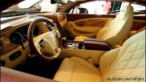 bentley spur interior new bentley continental gt with interesting interior youtube
