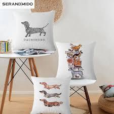 sofa franzã sisch aliexpress niedlichen tier kissenbezug 45 45 cm kissenbezüge
