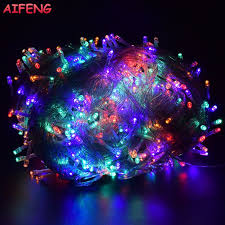 8 function multi color led christmas lights aifeng christmas lights 5m 10m 20m 30m 50m 100m led string 8