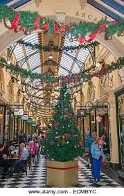 Christmas Decorations Shop Berlin by Shopping Arcade With Christmas Decorations In The Louvre Paris