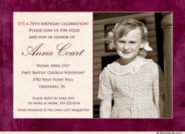80th birthday party invitations birthday invitations