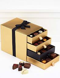 where to buy present boxes belgian 4 tier luxury chocolate gift box from m s misbehave in