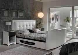 Tv Bed Frames The Bowburn King Size Tv Bed Tv Bed Store