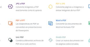 varias imagenes a pdf online small pdf nos permite hacer varias acciones online comprimir un pdf