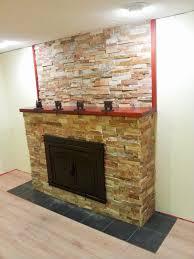 blah blah blah natural stone veneer on a fireplace