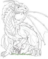 detailed coloring pages of dragons coloring pages for adults