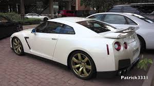 Nissan Altima Gtr - nissan gt r godzilla with golden rims youtube