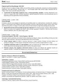 Sample Resume For Professional Engineer Mechanical Engineer Sample Resume Download Premier Field Engineer