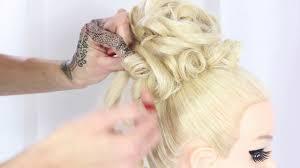 Hochsteckfrisurenen Hochzeit by Hair Tutorial Hochsteckfrisur Hochzeit Wedding Für Lange Haare