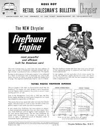 chrysler firepower directory index chrysler and imperial 1951 chrysler