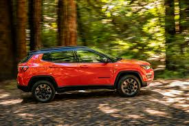 jeep red 2017 2017 jeep compass limited and trailhawk first test review motor