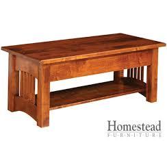 classic mission sofa table homestead furniture