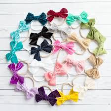 headbands with bows headbands think pink bows