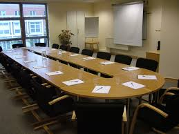 Office Conference Room Chairs Cream Wooden Conference Room Chairs Using Black Padded Seat Plus