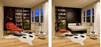 Bedroom With Living Room Design Bed Living Room Justsingit Com