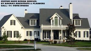 custom home design planning services up to 800 square meter plot area