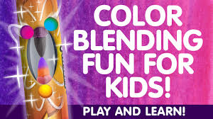 new color blending fun for kids by chameleon art products