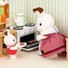 sylvanian families country kitchen set 24 00 hamleys for