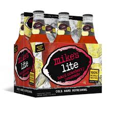 how much alcohol is in mike s hard lemonade light mike s hard brewing co mike s lite hard cranberry lemonade mill