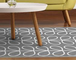 linoleum area rug with tiles in and blue printed