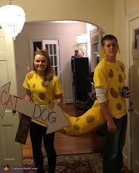 Crazy Couple Halloween Costumes Catdog Halloween Costume Contest Costume Works Couple
