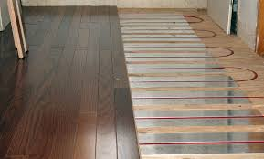 energy efficient heating radiant floor installation from tacoma