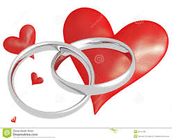 Heart Wedding Rings by Wedding Rings With Hearts Royalty Free Stock Image Image 2274726
