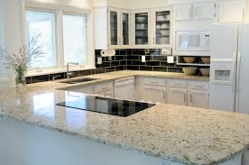 Kitchen Counter Table by Appealing Modern Counter Top With White Accent Kitchen Island Also