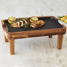 Iron Home Cast Iron Griddle Oven To Table Tray Wine Enthusiast