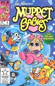 muppet babies 1985 1989 marvel star comics comic books